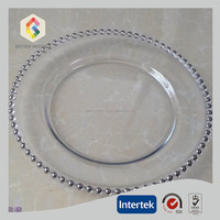 wedding beaded charger plates wholesale