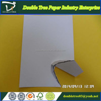 80gsm paper board laminated with grey back for good printing industry