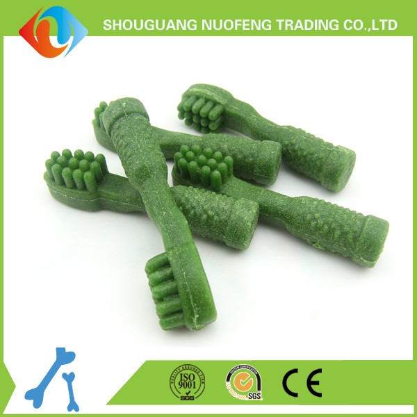 China wholesale dog chews bones healthy green pet food