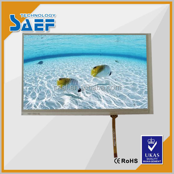 7.0 inch lcd display module RGB interface with resistance touch panel under Sunlight Readable