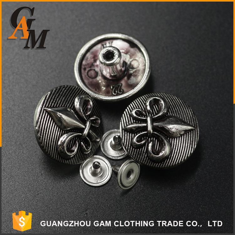 Oem Hot sale custom made metal resin easy pull fancy decorative clothing wholesale buttons for baby sweaters