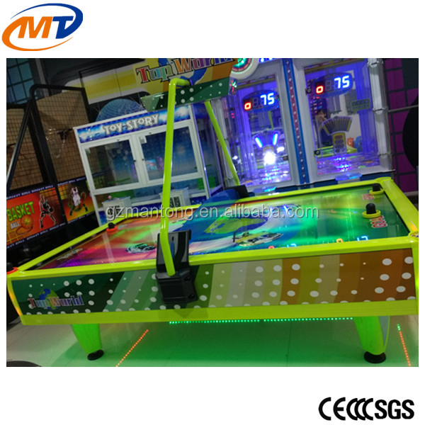 High quality amusement air hockey table for kids and adults/Funny air hockey table game machine/coin pusher