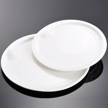 14 polegada Super Branco Porcelana Pratos de Food Service
