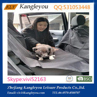 600D PVC waterproof pet car seat covers,pet rider at factory price