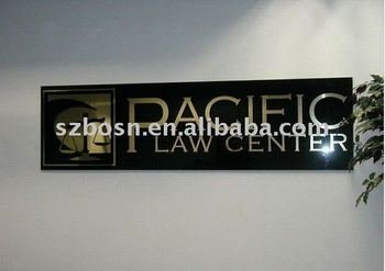 Acrylic Advertising Board,Perspex Office Sign,Acrylic Logo Sign