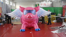 customized new style giant inflatable pig balloons,inflatable flying pig