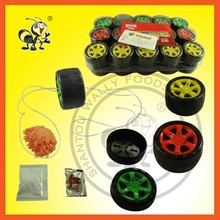 China Car Wheel YoYo Suprise Candy Toy/Popping Candy+Fashion Tattoo Sticker