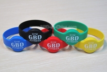 Silicon/Rubber/Plastic RFID Fundraising Bracelets with Tag-it 2048 Chip