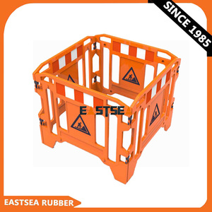 Removable PE Plastic Roadway Safety Barrier Fence