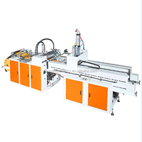 Manual Used Multicolor automatic vest bag plastic bag making machine