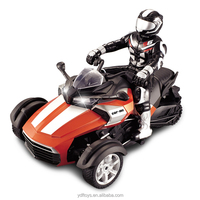 kid toys remote control car rc motorcycle ATV with people