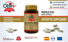 Propolis Plus 400mg. 90 Capsules - Food supplement