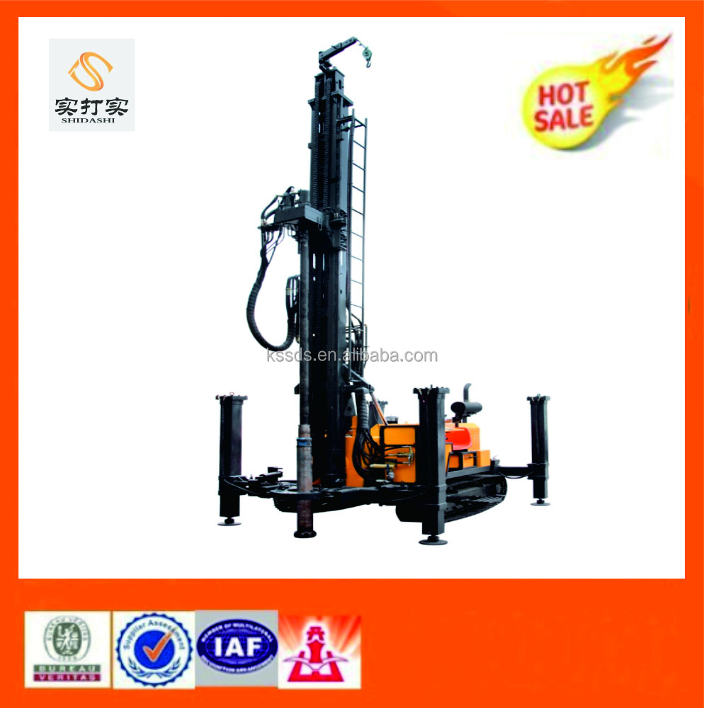 Multi purpose drilling rig/ Portable water well drilling equipment 600M