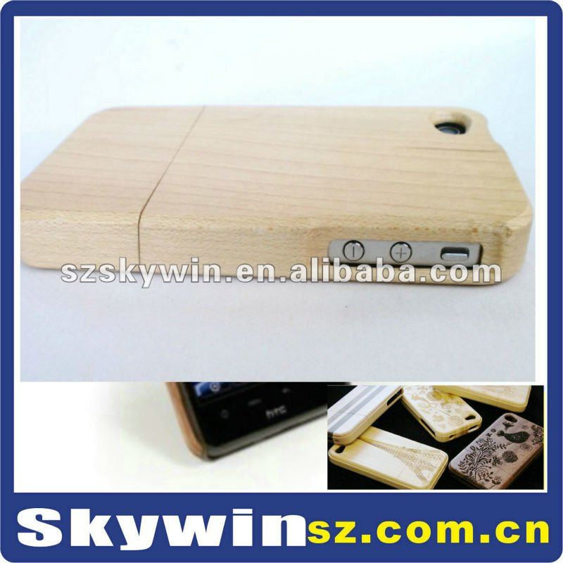 Wood shell for iphone 4G Bamboo case