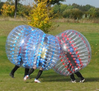 Worldwide popular sports bubble footballs/Inflatable Giant Soccer Ball/China Bubbles Manufacturer