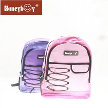 2014 top quality leisure and fashion backpack with drawstring for travelling backpack