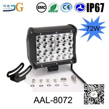 6.5Inch 72W 12V Car Spare Parts Led Light Truck Working Light Ambulance Lights