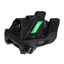 USB Rechargeable 532nm 5mw picatinny/weaver rail green laser gun sight for subcompact pistol hunting
