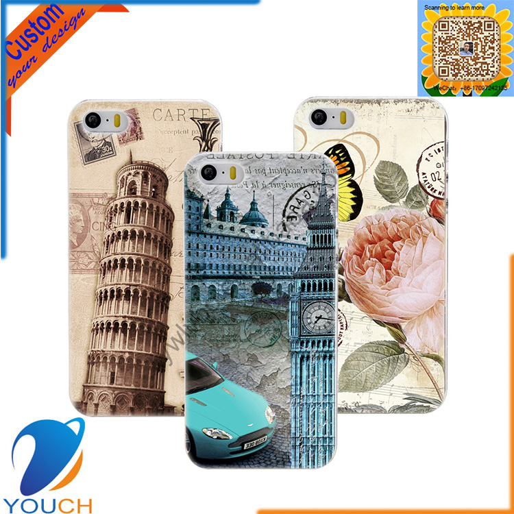 Custom most popular uv printing vintage building style smart phone case for iPhone 6 6s 6 plus 6s plus