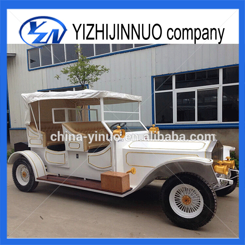 Iron and steel electric car for sale/4 wheels electric cart for sale