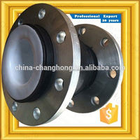 High performance Snap-in Hanger flexible floating flange single arch rubber expansion joints for pipeline