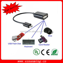 Micro USB Mobile Phone OTG Connect Kit Cable