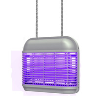 Indoor blue light insect killer lamp/fly trap