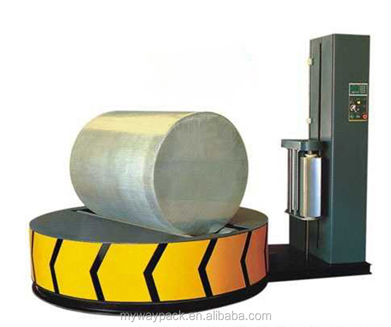 Manufacturer direct stretch film cylinder wrapping machine