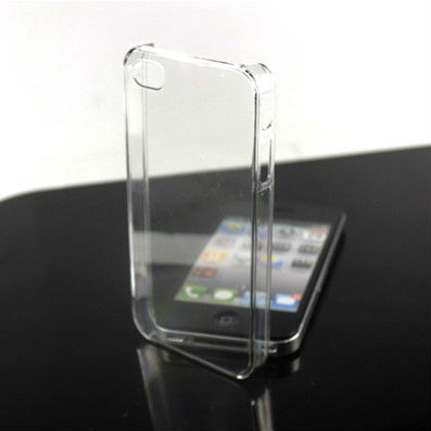 Cheap Clear Hard for iphone 4 4s crystal Case with Wholesale 100 pcs a lot Free Shipping