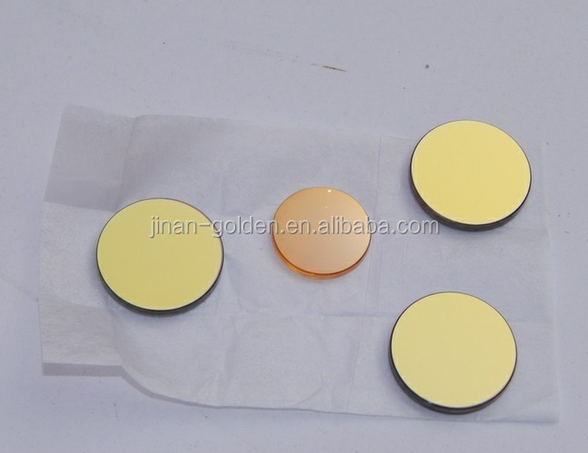 Laser Cutting Machine parts Mirror and Lens 20mm dia lens,25mm dia mirror