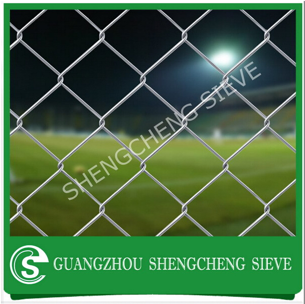 Competitive price 6ft wire mesh chain link fence/ county line fence