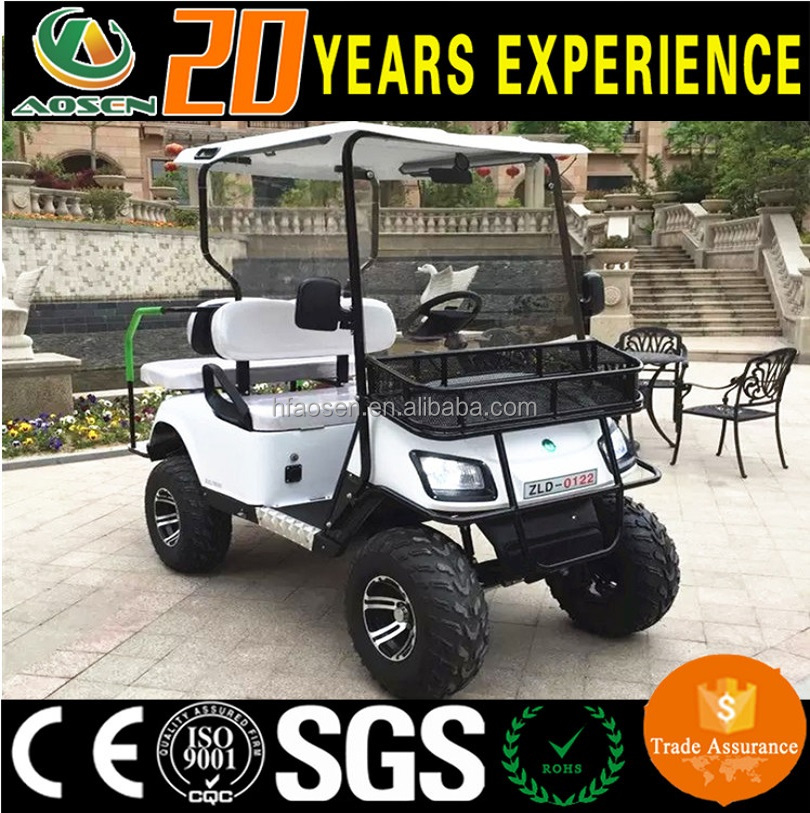 CE certificated 4 Seats Electric Used Golf Cart for sale
