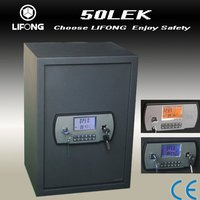 Factory Supply High-tech Digital New Looks Office File Safe Lock, LCD Alarm System Safe with Electronic Combination Lock