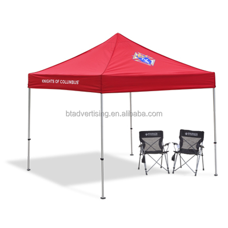 Shanghai Better ADmpact Canopy AOL 10x10 ft. Ez Pop Up Canopy Tent Instant Canopy Aluminum with Wheeled
