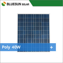 High quality 12v solar panel 40w polycrystal portable