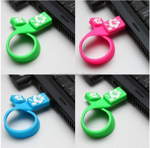 silicone bracelet usb flash drive colorful promotional gift corporate usb