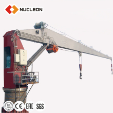 35T Good Price Widely General Used Marine Telescopic Arm Boat Lifting Crane