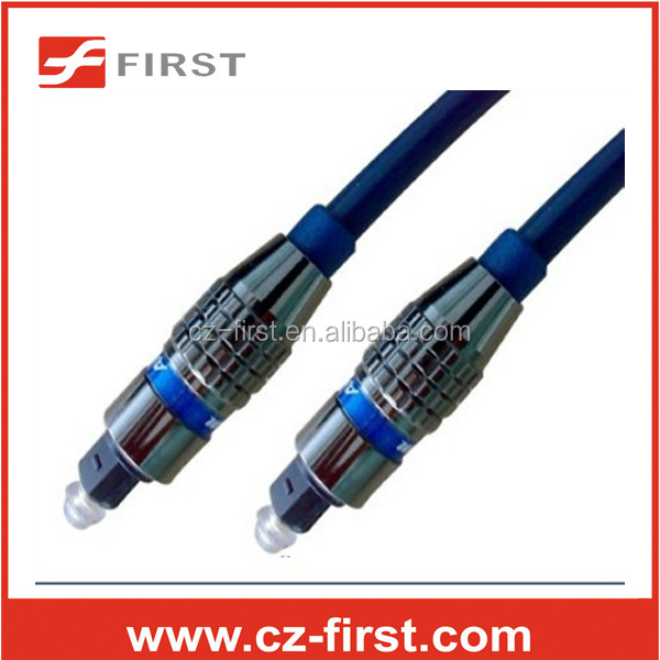 hot selling Digital optical audio toslink cable per 1 meter price