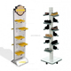 POP custom shoes display stand, iron furniture for shoe store
