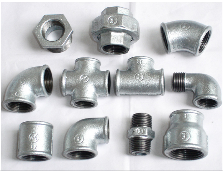 gi pipe fitting names and parts