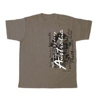 Factory Custom Heat Transfer Printing Unisex T Shirt