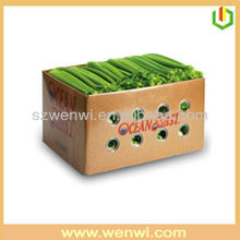 Fruit box waxed vegetable packaging box