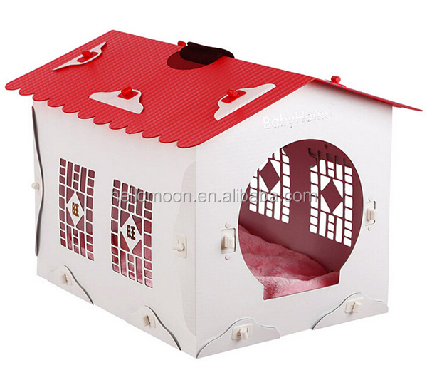 2015 New Arrival Factory Price Wood Plastic Composite Dog House