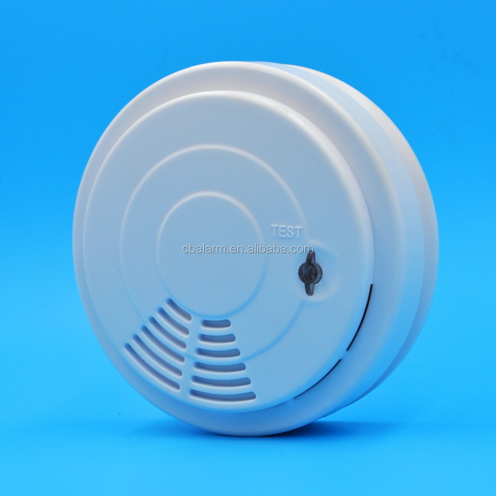 Fire alarm smoke activated alarm detector