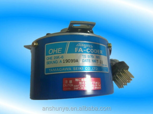 "OHE 25K-6 TS5170N11 ( OHE25K-6 TS 5170 <strong>N11</strong> ) Rotary Encoder TAMAGAWA FA-CODER Resolver ,Second Hand Looks Like ""new"" Tested"
