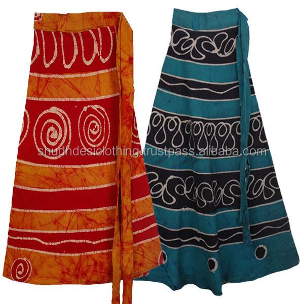 Wrap Around Long Skirts Online Shopping Store - Buy Vintage Multi ...