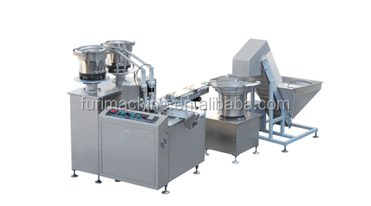 DIscs rubbers foil inserting assembly machine