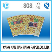TIAN HANG high quality 2oz paper cup fan/paper blank/paper sheet
