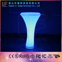 New used for night club flashing LED furniture sets outdoor led furniture wholesale led light bar