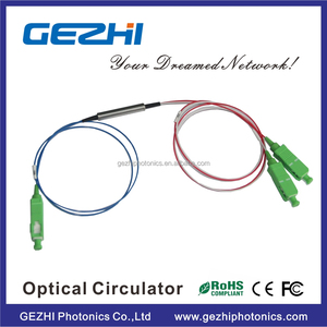 Low price 3 Port 1310nm 1550nm fiber optic circulator for catv ftth edfa system